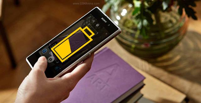 Thời lượng pin của Xperia Z1 kém ấn tượng