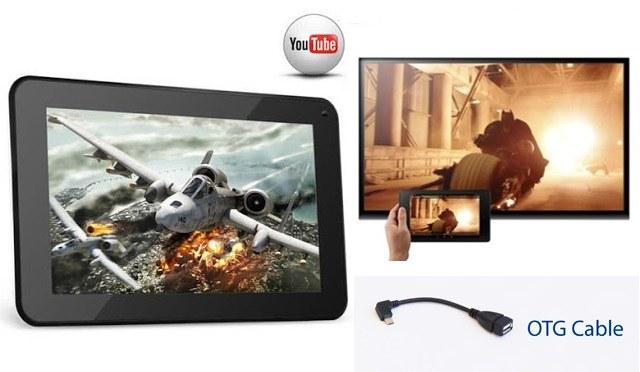Bạn có thể xem phim hoặc truy xuất dữ liệu ngay trên USB hoặc ổ cứng rời