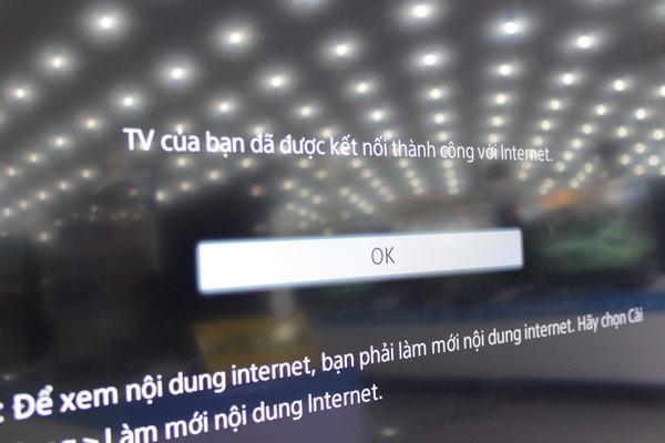 Hướng dẫn kết nối mạng với Tivi Sony 9