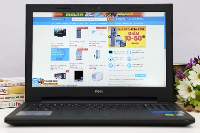 3 - Laptop Dell Inspiron 3542 I3 4005/4Gb/500Gb/14inch