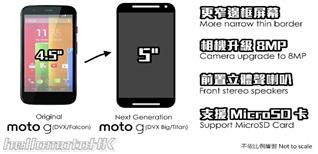 Rò rỉ thông tin về smartphone giá rẻ Moto G2