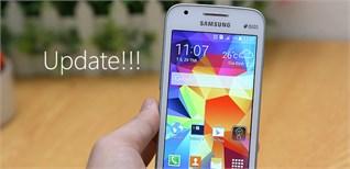 Samsung Galaxy V có thêm bản cập nhật cải thiện một vài lỗi nhỏ