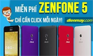 Sở hữu miễn phí Zenfone 5 tại dienmay.com