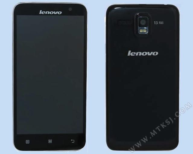 Thiết kế Lenovo A808T-I khá đẹp mắt