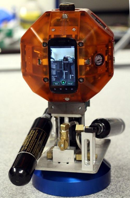 Nexus S được sử dụng trên robot thám hiểm vũ trụ của NASA
