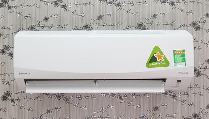 Một mẫu máy lạnh Inverter Daikin
