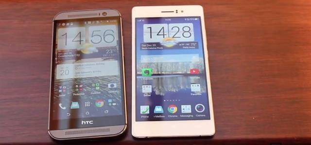 Oppo R5 và HTC One M8: