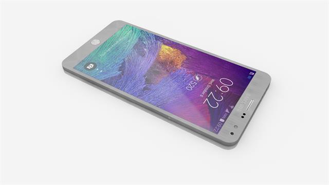 Mẫu Galaxy Note 5 với RAM 4GB cùng thiết kế đẹp không tì vết
