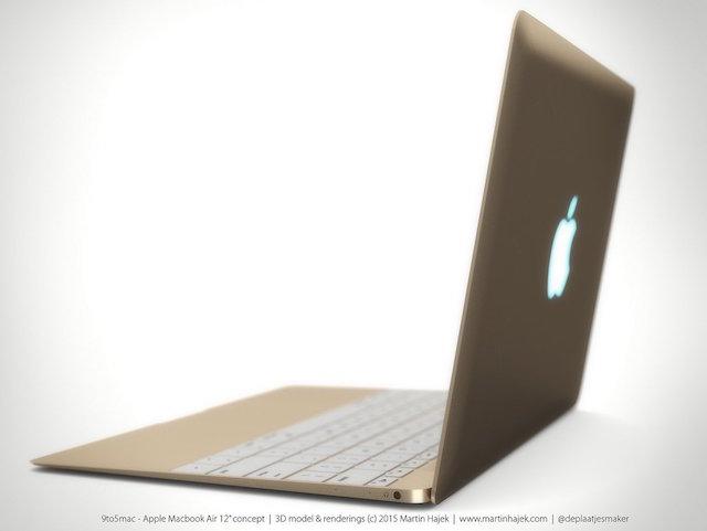 Ngỡ ngàng với vẻ đẹp dòng MacBook Air năm 2015 của Apple 8
