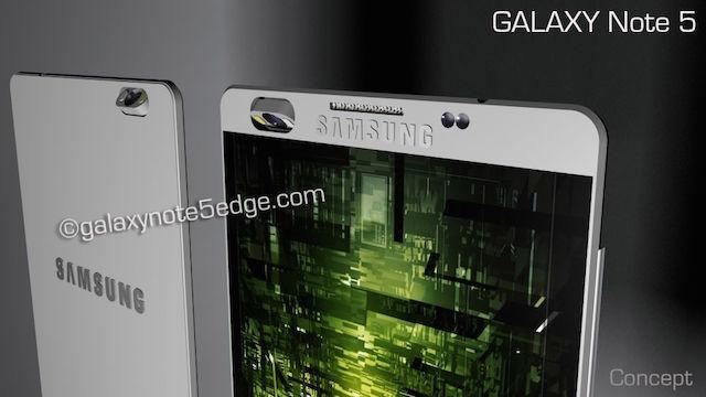 Chiêm ngưỡng bản thiết kế Galaxy Note 5 cực ngầu 6