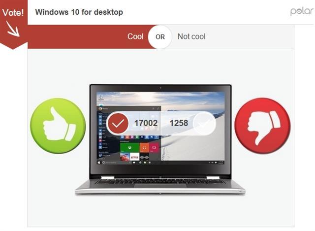 Nhiểu người dùng ủng hộ Windows 10 cho cả smartphone và máy tính