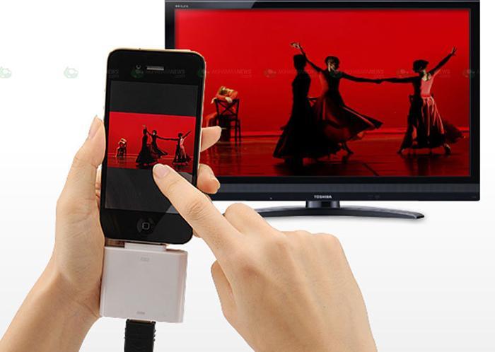 HDMI cho phép truyền nội dung từ điện thoại lên tivi