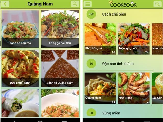 Android: 5 ứng dụng nấu ăn giúp bạn lên thực đơn cho 8/3 7