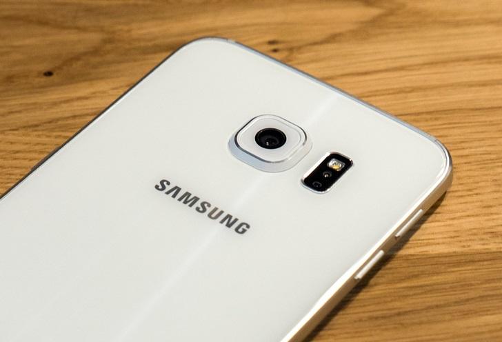 Galaxy S6 Edge mặt sau