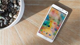 Phablet tốt nhất nhất thế giới Galaxy Note 4 bất ngờ giảm giá 'khủng khiếp'