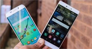 [So sánh] Galaxy S6 Edge và Huawei P8