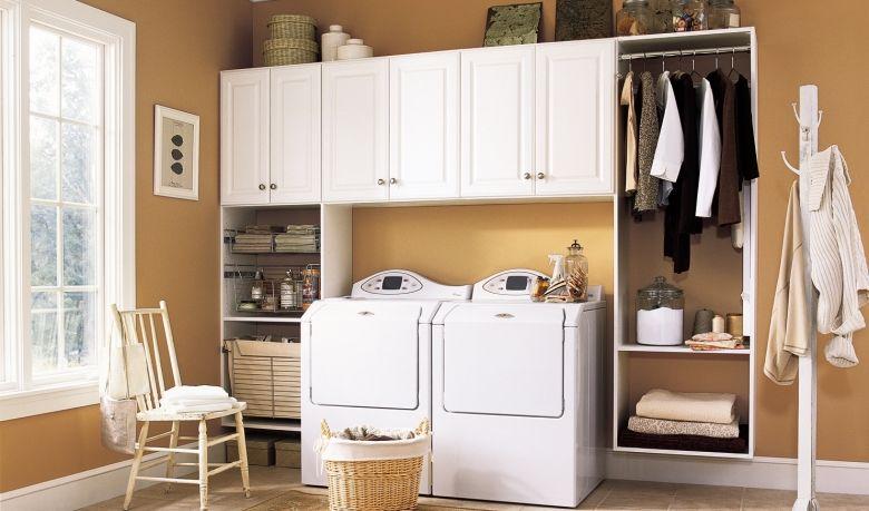 Máy giặt cần được đặt ở nơi bằng phẳng