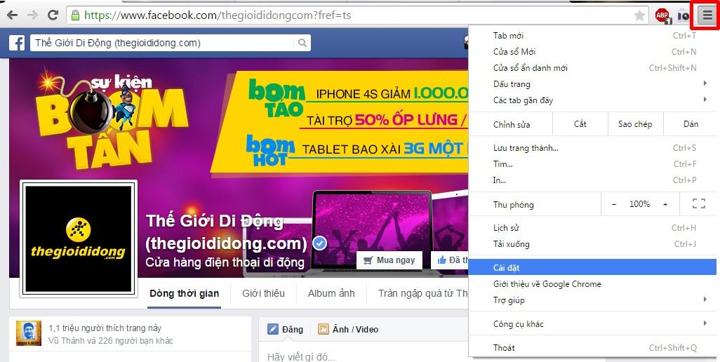 Khắc phục trình duyệt IE, Firefox, Chrome, Safari, Opera tự động bật Popup quảng cáo