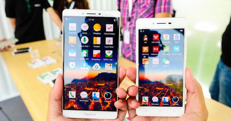 Loạt ảnh trên tay Oppo R7 và R7 Plus 7