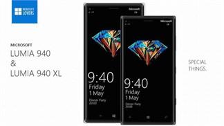 Bộ đôi Lumia 940/940 XL rò rỉ cấu hình mới với độ phân giải 'thật tuyệt vời'