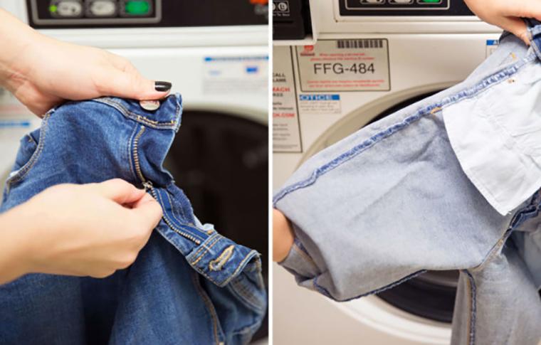 Nhớ kiểm tra và phân loại quần áo trước khi giặt