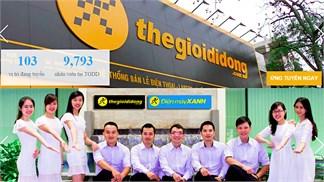 Thegioididong tuyển dụng nhân sự Khối Siêu thị và Phát triển Kinh doanh Online!