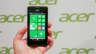 Điện thoại Windows Phone Acer Liquid M220 lên kệ với giá chỉ 1,7 triệu đồng