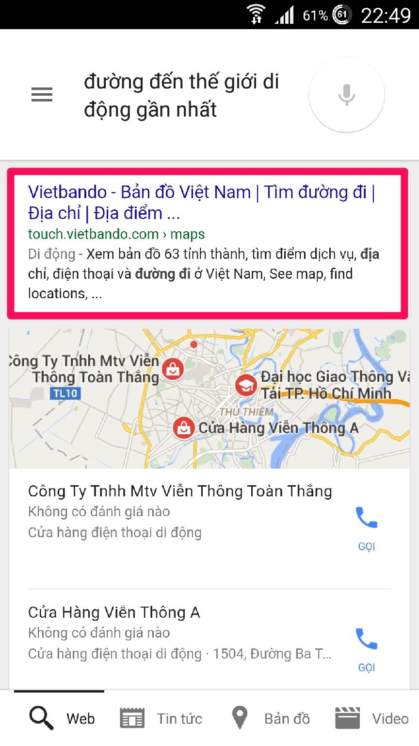 Dùng Google Now tìm kiếm giọng nói bằng tiếng Việt