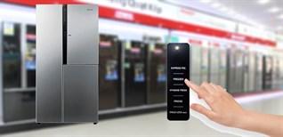 Cách sử dụng bảng điều khiển tủ lạnh LG GR-R267JS 629 lít