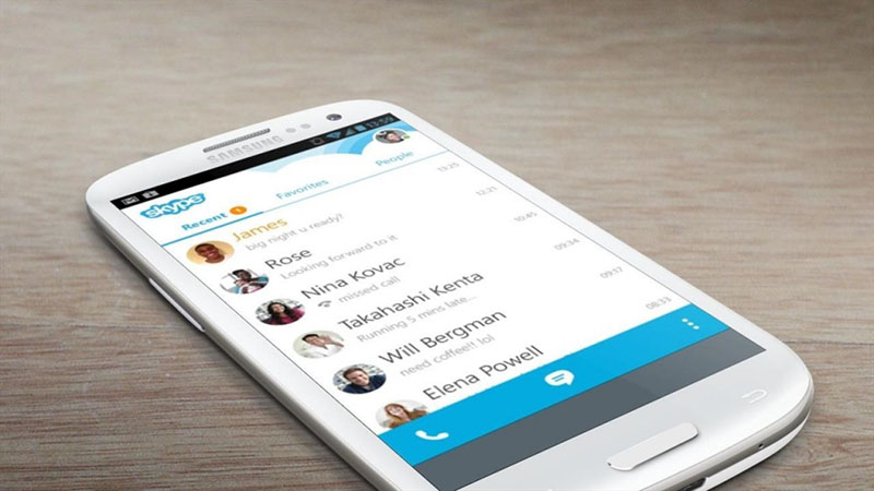 [Android] Skype cập nhật mới 2 tính năng tùy chỉnh nhạc chuông và chuyển tiếp hình ảnh