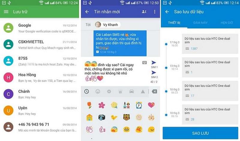 Những tính năng chính của ứng dụng Laban SMS
