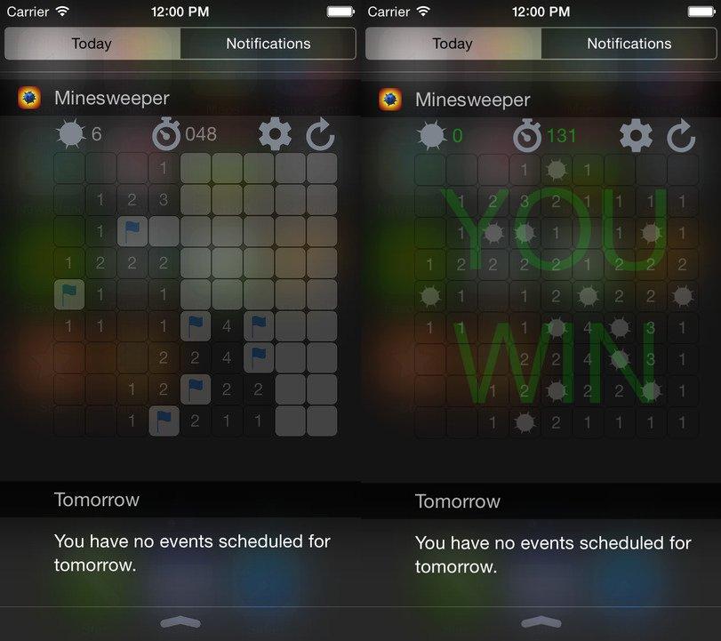 Minesweeper Widget Edition
