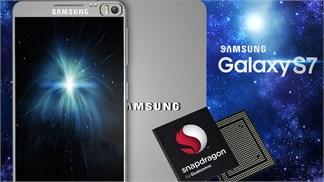 Galaxy S7 tiếp tục thử sức với chip Snapdragon 820 thế hệ mới
