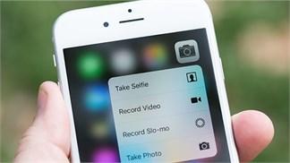 Tổng hợp tất cả những mẹo dùng 3D Touch trên iPhone 6s cho người mới