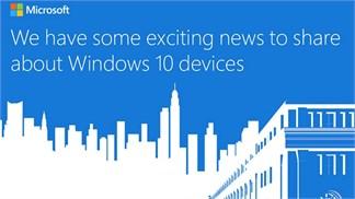 Sự kiện Microsoft Surface Pro 4, bạn đã biết cách xem trực tuyến?