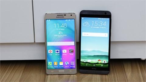 Samsung Galaxy A7 vs HTC One E9 Dual: Chọn thiết kế sang trọng hay hiệu năng tốt?