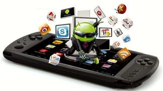 Smartphone Android kiêm máy chơi game thiết kế không đụng hàng