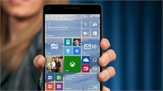 Windows 10 Mobile sẽ được tung ra ngay trong tháng sau?