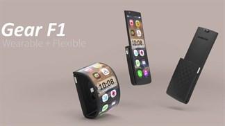Tương lai của smartwatch màn hình uốn cong là đây?