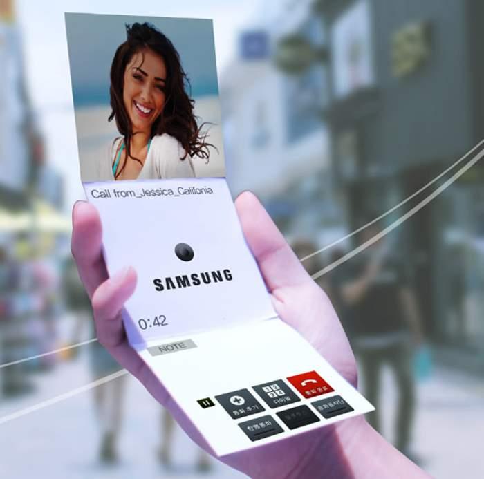Smartphone uốn dẻo của Samsung