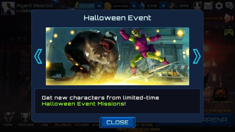 Marvel Future Fight Halloween 1