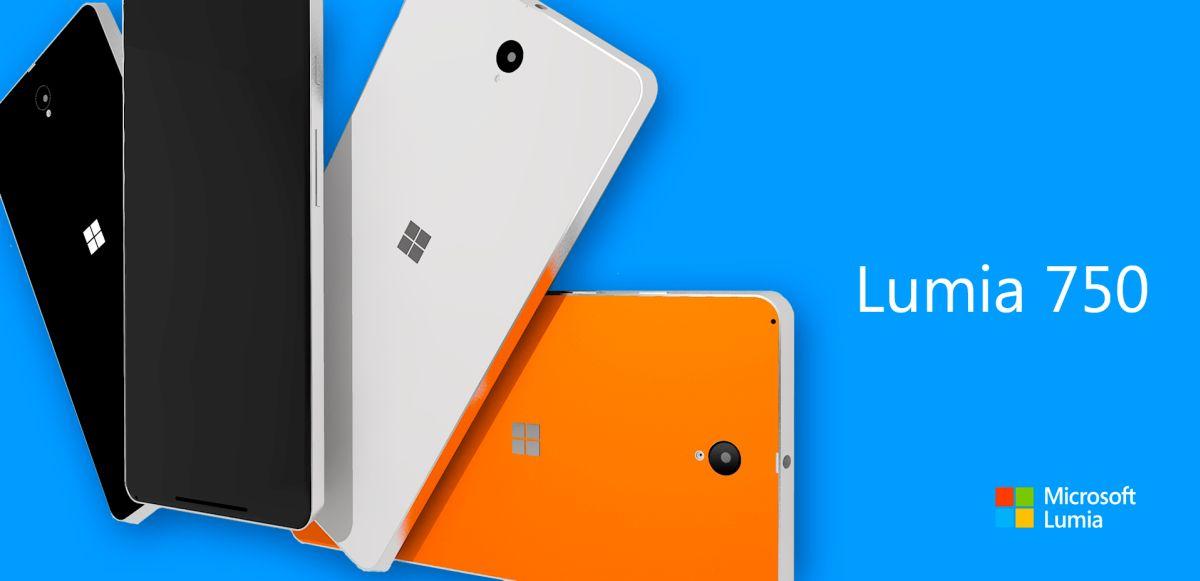 Lumia 750 có thiết kế bắt mắt, trẻ trung