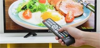 Cách sử dụng điều khiển tivi VTB LV3269
