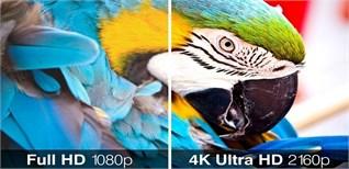 Tivi độ phân giải Full HD và tivi 4K có thực sự chênh lệch?