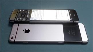 Ngắm iPhone 7 theo phong cách của BlackBerry Priv