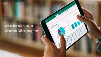 Sắp có tablet Windows 10 khủng hơn cả Mi Pad 2, đúng nghĩa thay thế máy tính