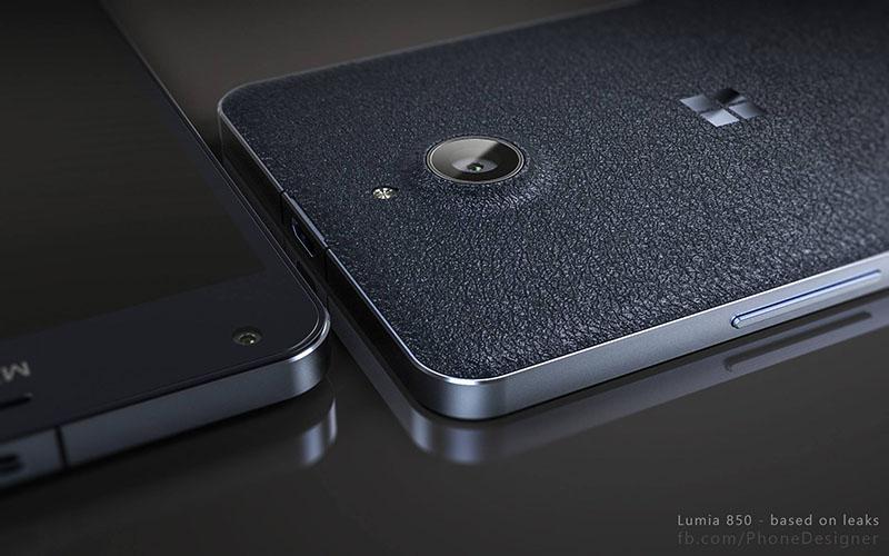 Bản thiết kế mẫu của Lumia 850 (nguồn: concept-phones)