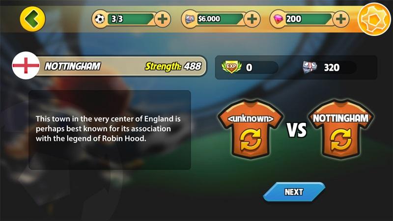 Trong trò chơi, bạn sẽ phải thi đấu với các câu lạc bộ - đội tuyển quốc gia tới từ khắp nơi trên Thế Giới
