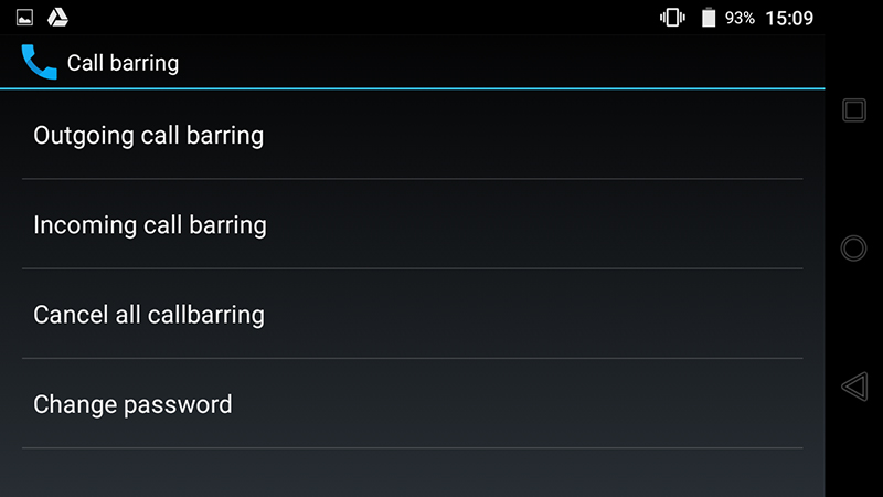 Chặn cuộc gọi, tin nhắn Android