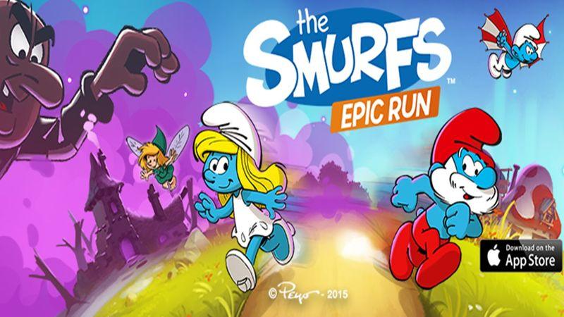 Smurfs Epic Run Menu